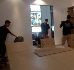 Chuyển văn phòng uy tín tại phố Hoàng Văn Thái