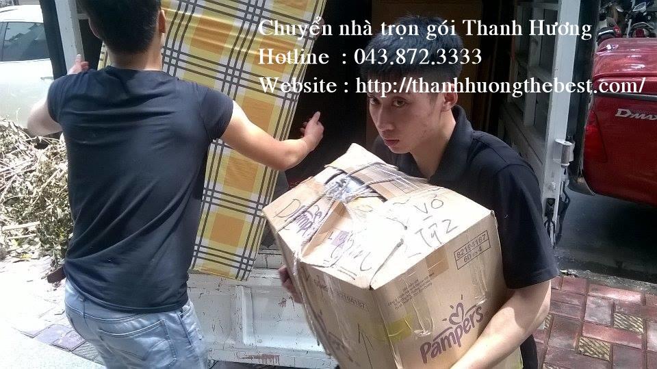 Chuyển nhà Thanh Hương uy tín số 1 tại Hà Nội