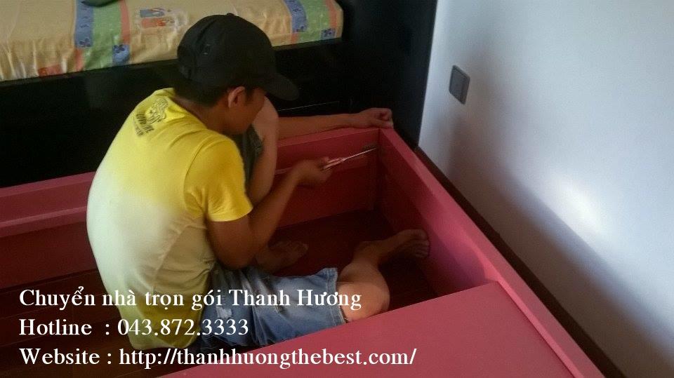 Dịch vụ chuyển nhà trọn gói Thanh Hương tại phố Hương Viên