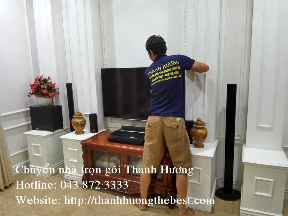 Dịch vụ chuyển nhà Thanh Hương tại chung cư chung cư Udic Riverside