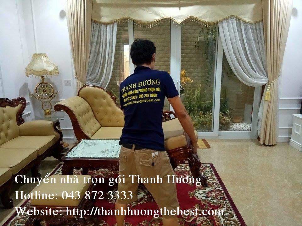 Dịch vụ chuyển nhà chuyên nghiệp tại phố Liễu Giai của công ty Thanh Hương