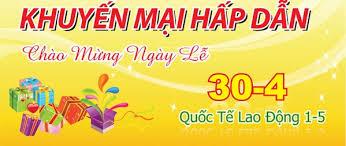 Chuyển nhà Thanh Hương giảm giá cước 30% cho quý khách hàng ngày 30-4 và 1-5-2017