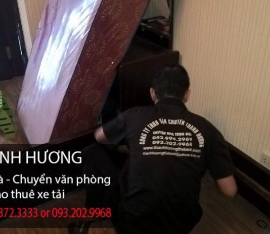 Thanh Hương chuyển nhà trọn gói tại phố Quan Nhân
