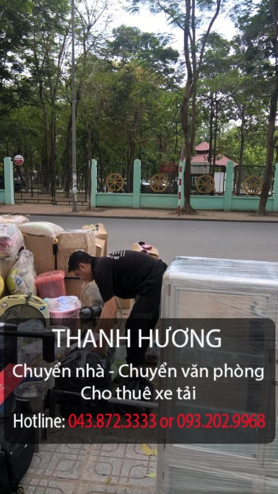 Chuyển nhà trọn gói giá rẻ tại phố tại phố Hoàng Ngân