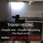 Dịch vụ chuyển nhà Thanh Hương tại phố Thành Thái
