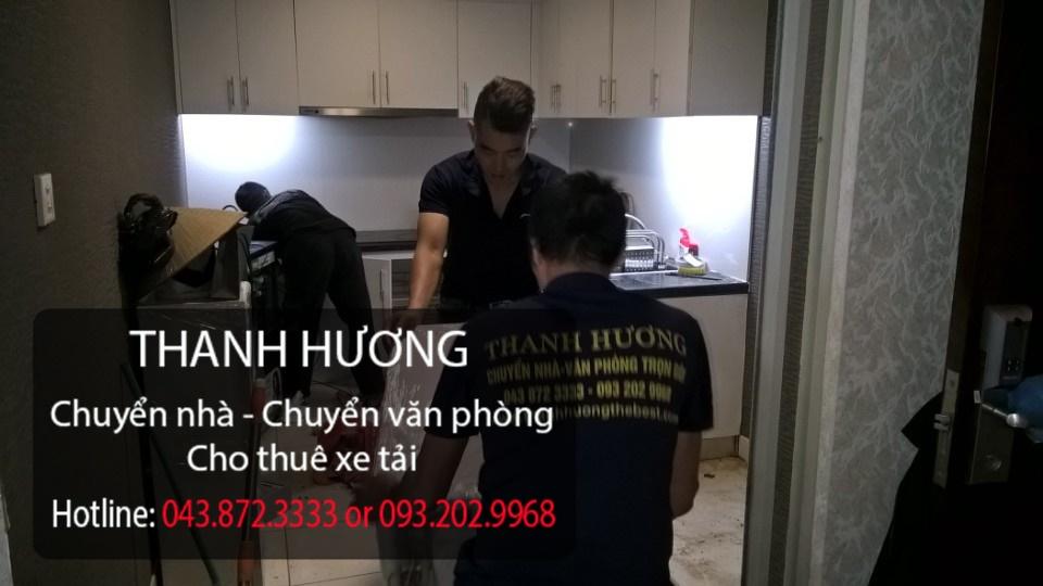 Dịch vụ chuyển nhà chuyên nghiệp tốt nhất tại Việt Nam đó là công ty Thanh Hương