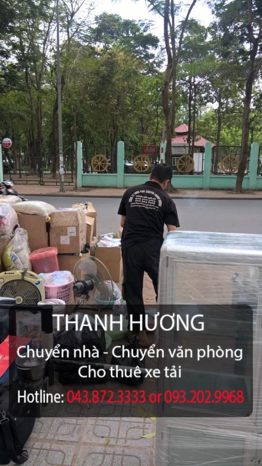 Dịch vụ chuyển nhà trọn gói giá rẻ tại phố Quan Nhân