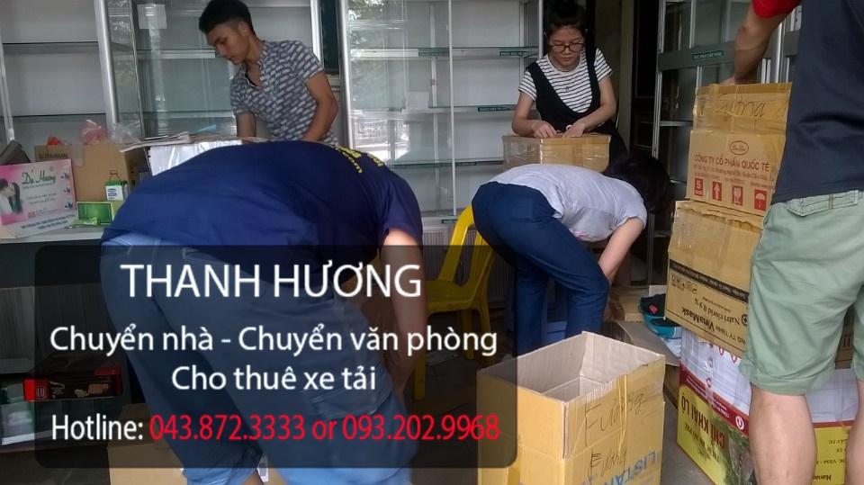 Công ty chuyển nhà Thanh Hương tại phố Ngọc Lâm