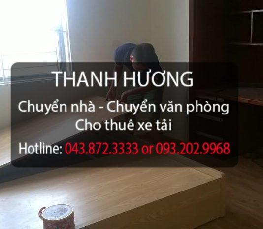 Chuyển nhà trọn gói giá rẻ Thanh Hương tại phố Thạch Cầu