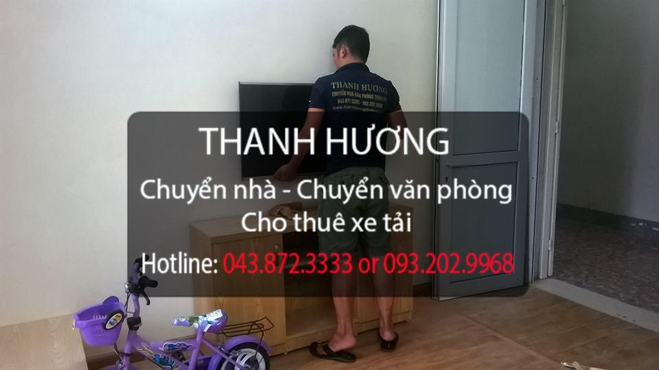 Thanh Hương cung cấp chuyển nhà trọn gói tại phố Dịch Vọng