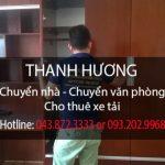 Chuyển nhà trọn gói giá rẻ Thanh Hương tại đường Lâm Du
