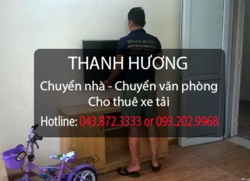Dịch vụ chuyển nhà trọn gói giá rẻ Thanh Hương