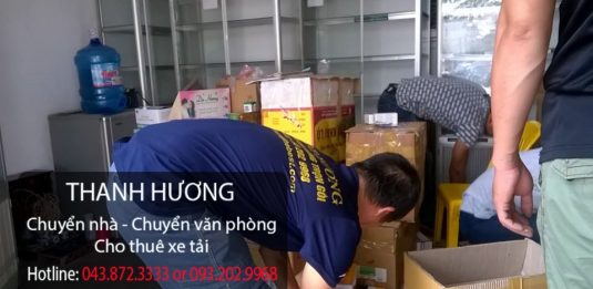 Chuyển nhà-cho thuê xe tải giá rẻ tại phố phố Quan Nhân