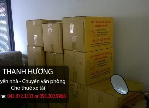 Chuyển nhà Thanh Hương giá rẻ-Quy cách đóng thùng đạt tiêu chuẩn của Thanh Hương