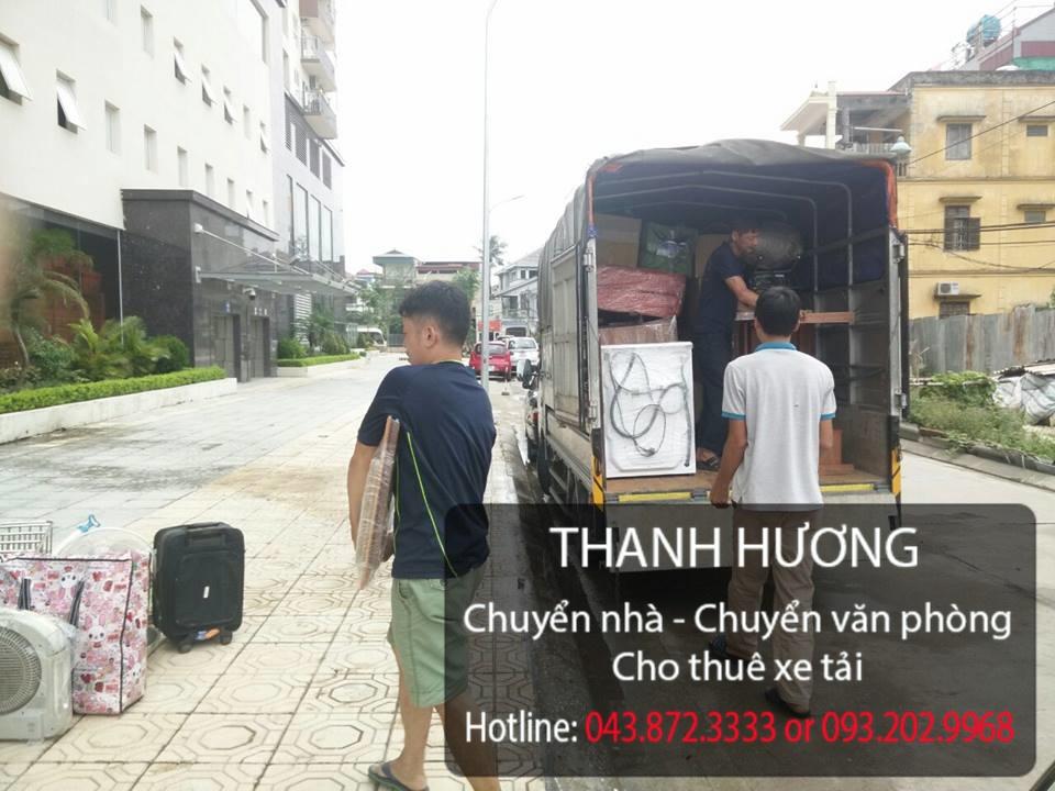 Thanh Hương dịch vụ chuyển nhà trọn gói tại phố Lý Thường Kiệt