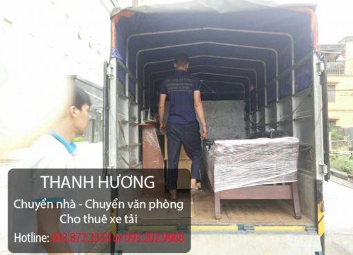 Thanh Hương cung cấp dịch vụ chuyển nhà trọn gói giá rẻ số 1 tại phố Lê Phụng Hiểu
