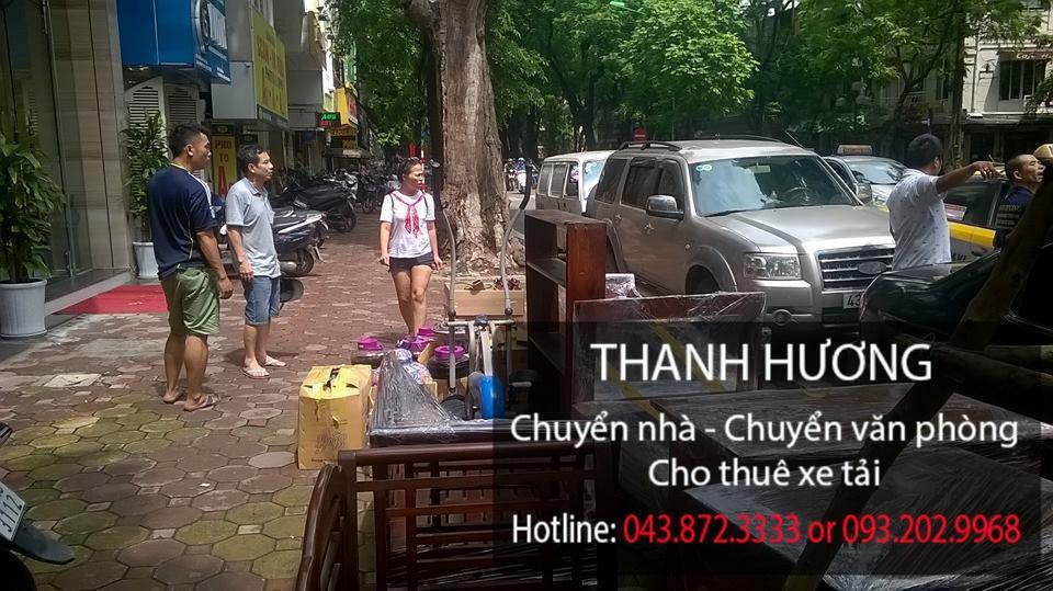 Dịch vụ chuyển nhà Thanh Hương tại phố Phủ Doãn