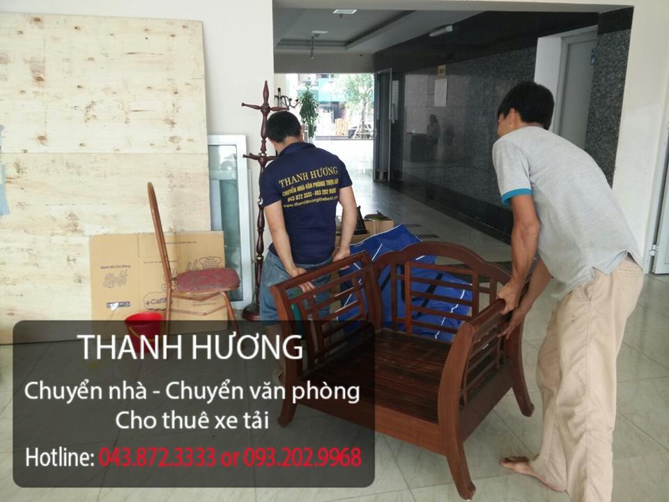 Dịch vụ chuyển nhà trọn gói giá rẻ tại phố Ngô Quyền