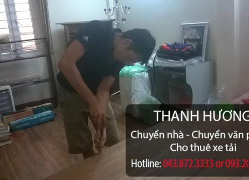 Thanh Hương cung cấp chuyển nhà giá rẻ tại phố Quán Sứ