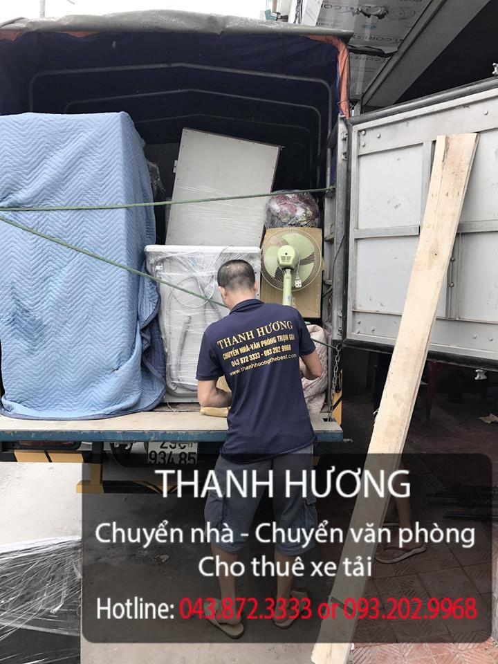 Chuyển nhà trọn gói chuyên nghiệp tại phố Quang Trung