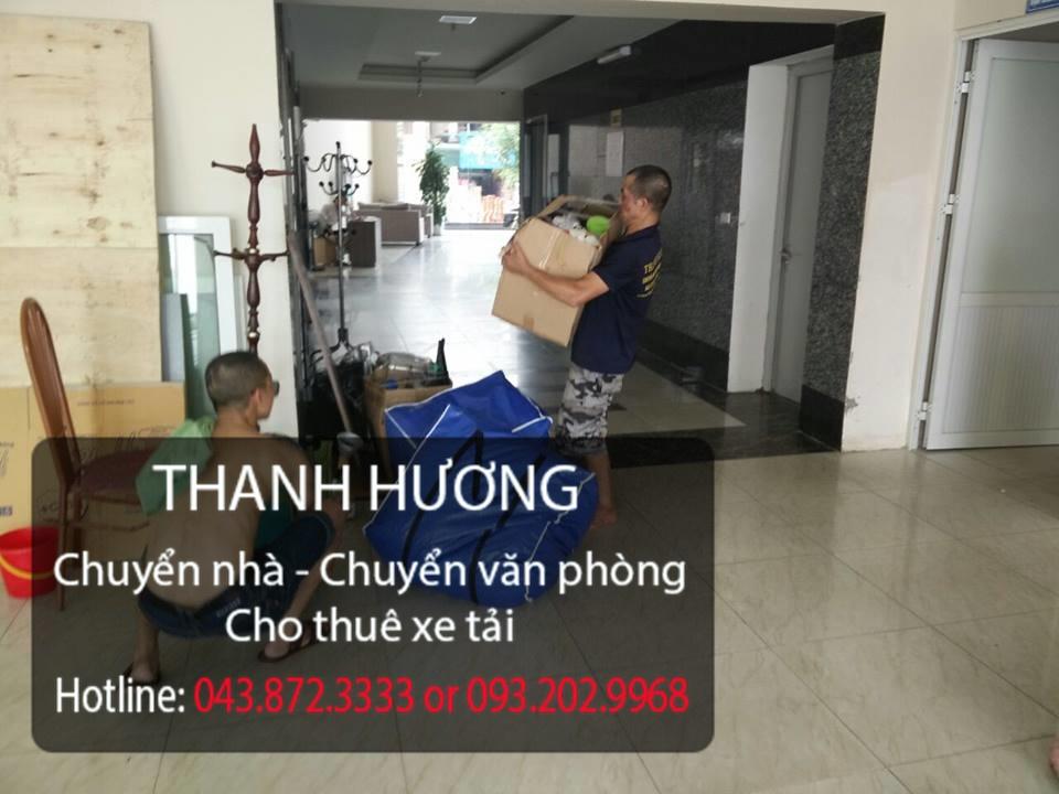 Dịch vụ chuyển nhà trọn gói Thanh Hương tại phố Quán Sứ