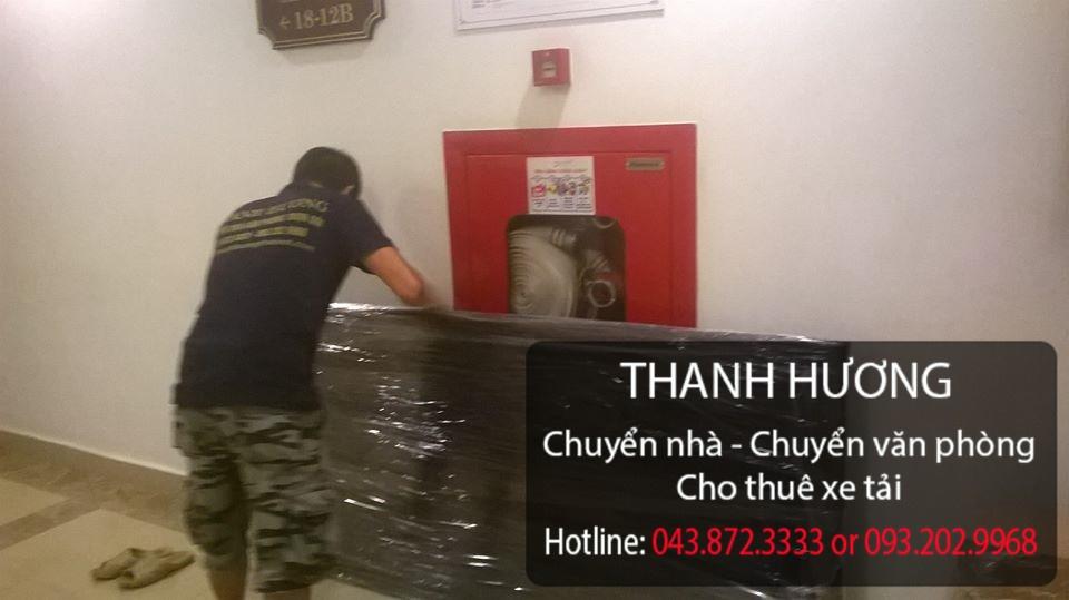 Dịch vụ chuyển nhà trọn gói Thanh Hương tại phố Quang Trung