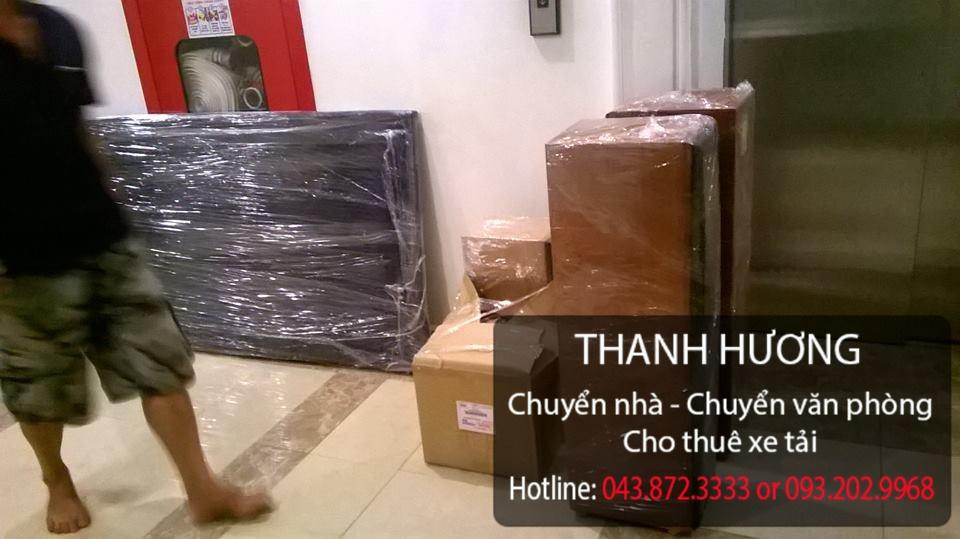 Thanh Hương dịch vụ chuyển nhà trọn gói chuyên nghiệp tại phố Thợ Nhuộm