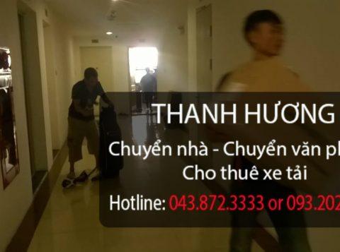 Chuyển nhà trọn gói giá rẻ Thanh Hương tại phố Thanh Đàm