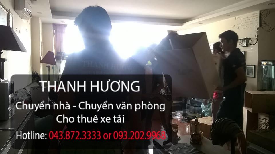 Thanh Hương chuyển nhà trọn gói hàng đầu tại phố Đại Đồng