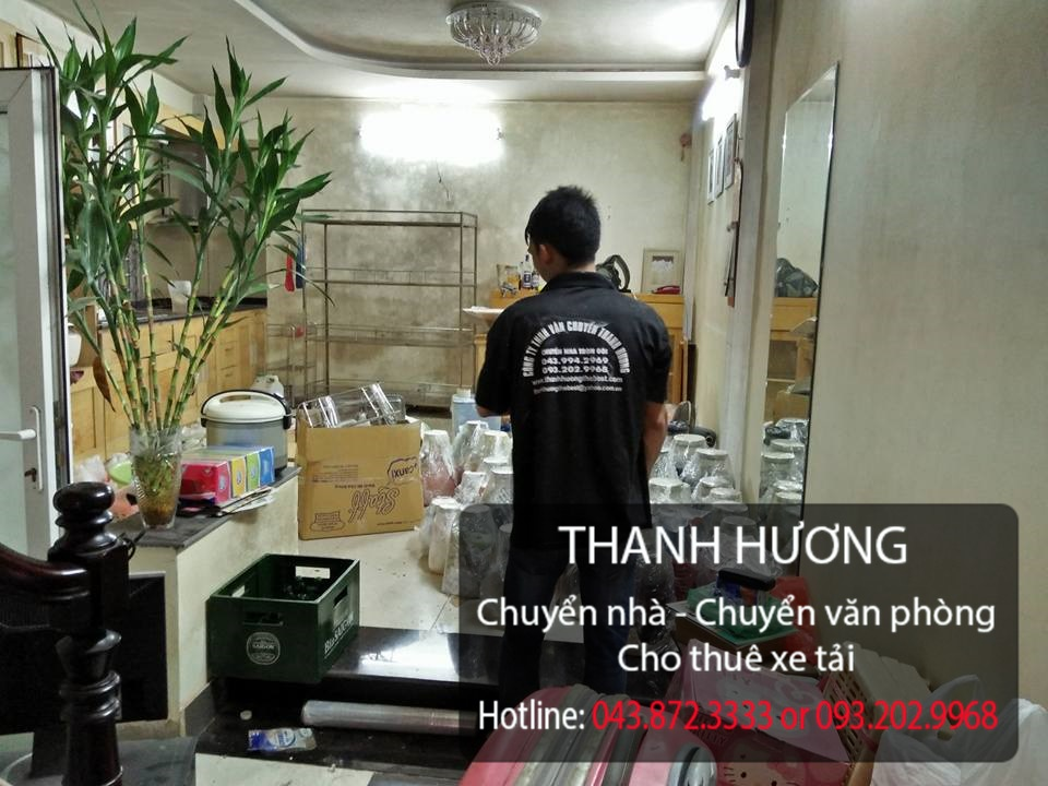 Thanh Hương cung cấp dịch vụ chuyển nhà trọn gói tại phố Vĩnh Hưng