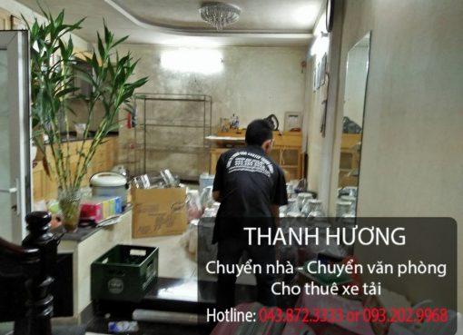 Thanh Hương dịch vụ chuyển nhà trọn gói chuyên nghiệp Dịch vụ cho thuê xe tải chuyển nhà giá rẻ tạiphố Lê Lai