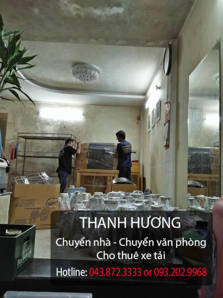 Thanh Hương dịch vụ chuyển nhà trọn gói tại phố Trần Nhân Tông