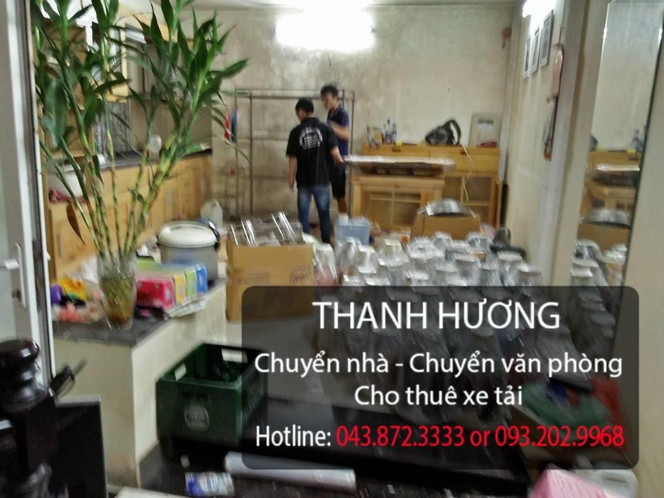 Thanh Hương cung cấp dịch vụ chuyển nhà tại phố Trần Khát Chân