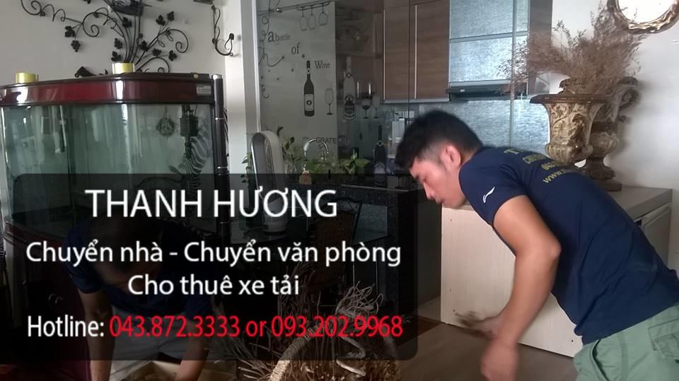 Dịch vụ chuyển nhà trọn gói Thanh Hương giảm giá 25% cho quý khách hàng tại Hà Nội