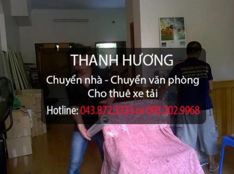 Dịch vụ chuyển nhà trọn gói giá rẻ tại phố Trần Nhân Tông