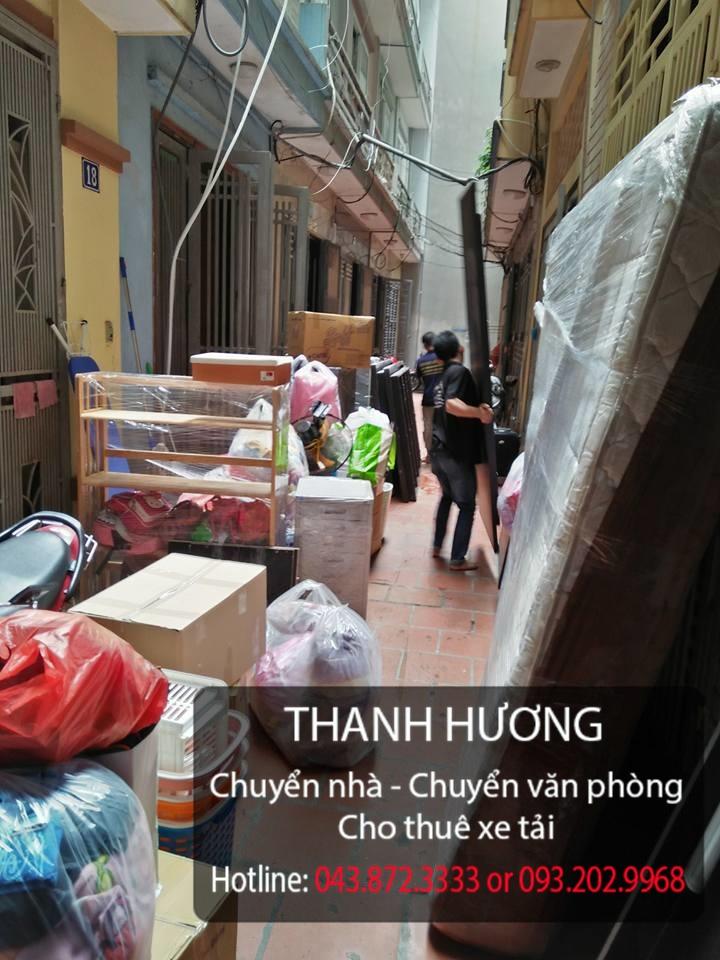 Thanh Hương cho thuê xe tải chuyển nhà giá rẻ tại phố Vĩnh Hưng