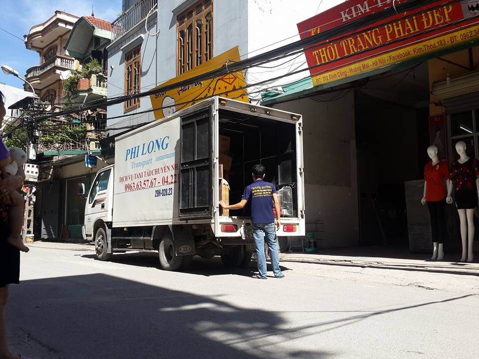 Dịch vụ chuyển nhà trọn gói giá rẻ tại phố Đại Đồng