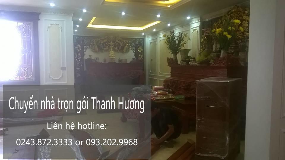 Dịch vụ chuyển nhà trọn gói tại phố Hoa Lâm-093.202.9968