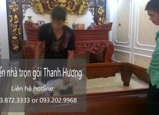 Công ty Thanh Hương cung cấp dịch vụ chuyển nhà trọn gói tại phố Đông Thiên