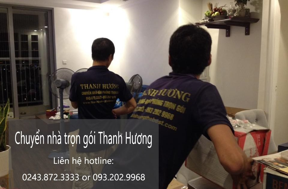 Dịch vụ chuyển nhà trọn gói Thanh Hương tại phố Nguyễn Thị Thập