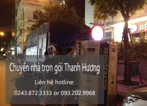 Chuyển nhà trọn gói Thanh Hương tại phố Chợ Gạo