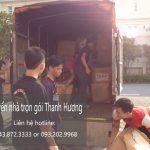 Dịch vụ chuyển nhà trọn gói tại phố Hoàng Công Chất