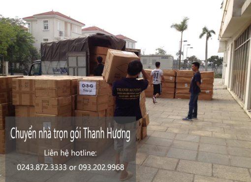 Dịch vụ chuyển nhà trọn gói Thanh Hương tại phố Hưng Phúc