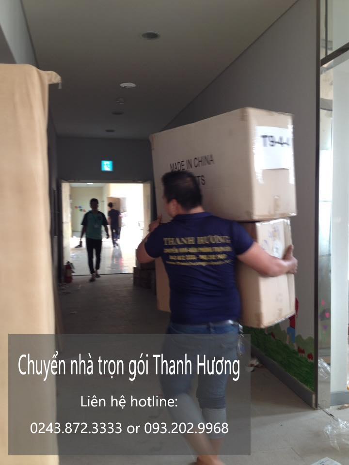 Dịch vụ chuyển nhà trọn gói tại phố Hương Viên
