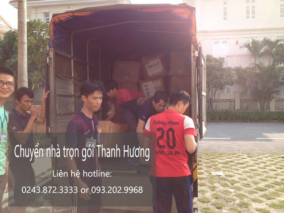 Chuyển nhà trọn gói Thanh Hương tại phố Hàng Vôi
