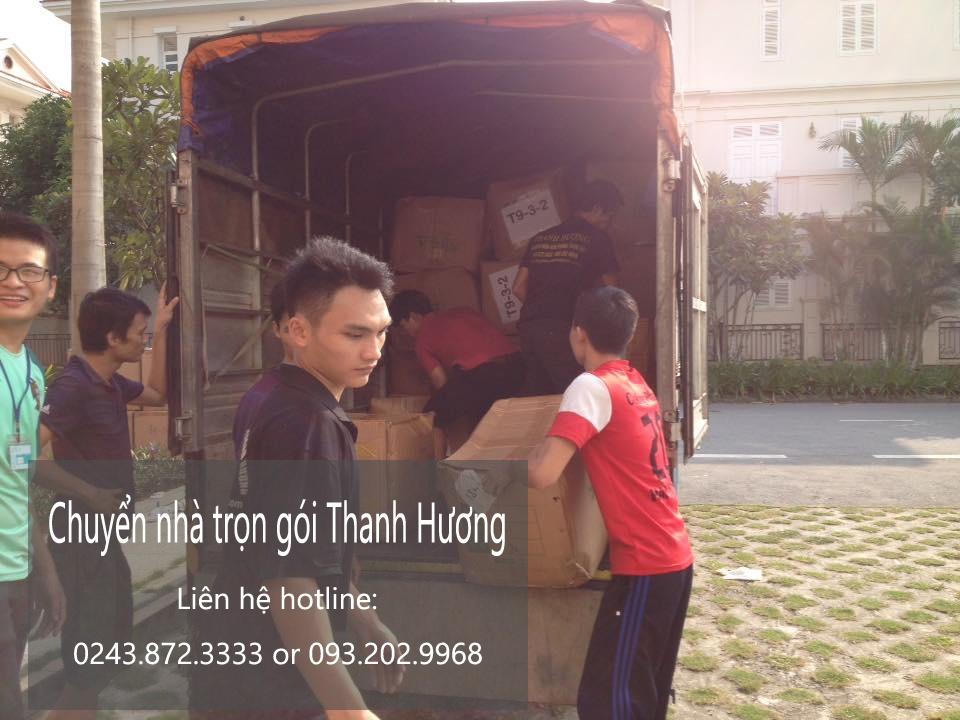 Chuyển nhà trọn gói Thanh Hương tại phố Hàng Tre