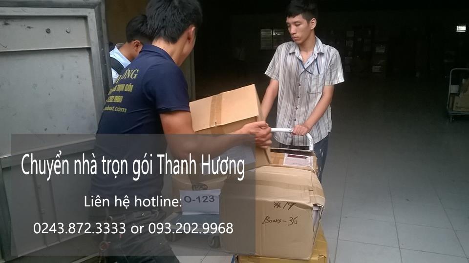 Dịch vụ chuyển nhà trọn gói tại phố Khúc Hạo