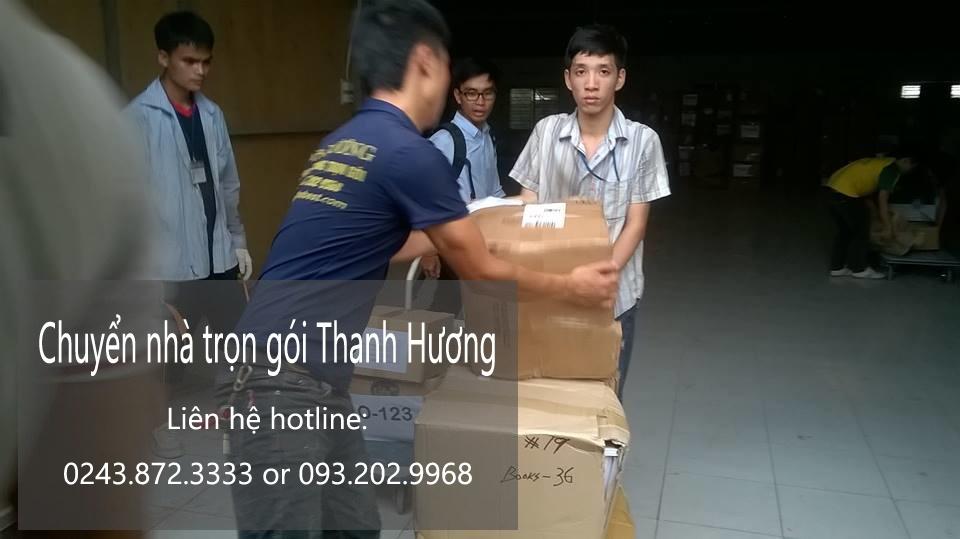 Dịch vụ chuyển nhà trọn gói Thanh Hương tại phố Lạc Chính