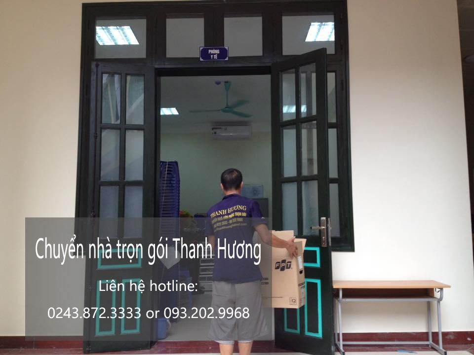Dịch vụ chuyển nhà trọn gói tại phố Vĩnh Hồ