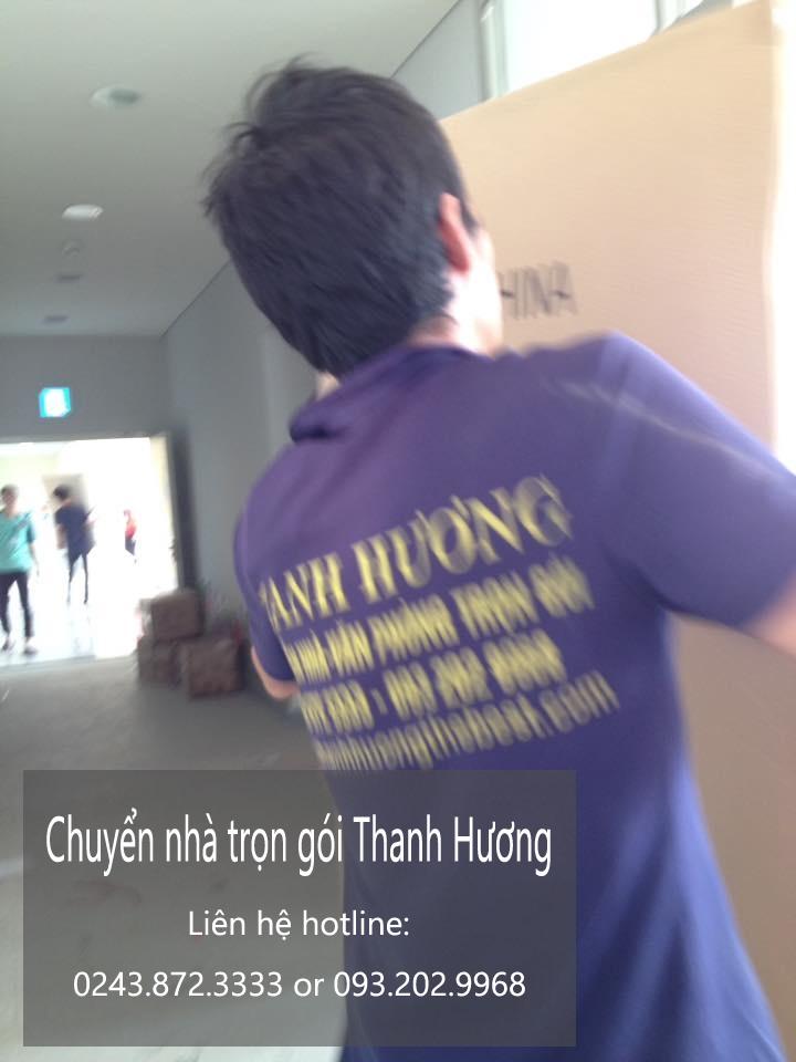 Dịch vụ chuyển nhà trọn gói tại phố Chùa Láng